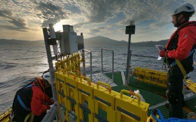 Los primeros paneles del proyecto europeo NEMMO entran en el agua para los ensayos de biofouling
